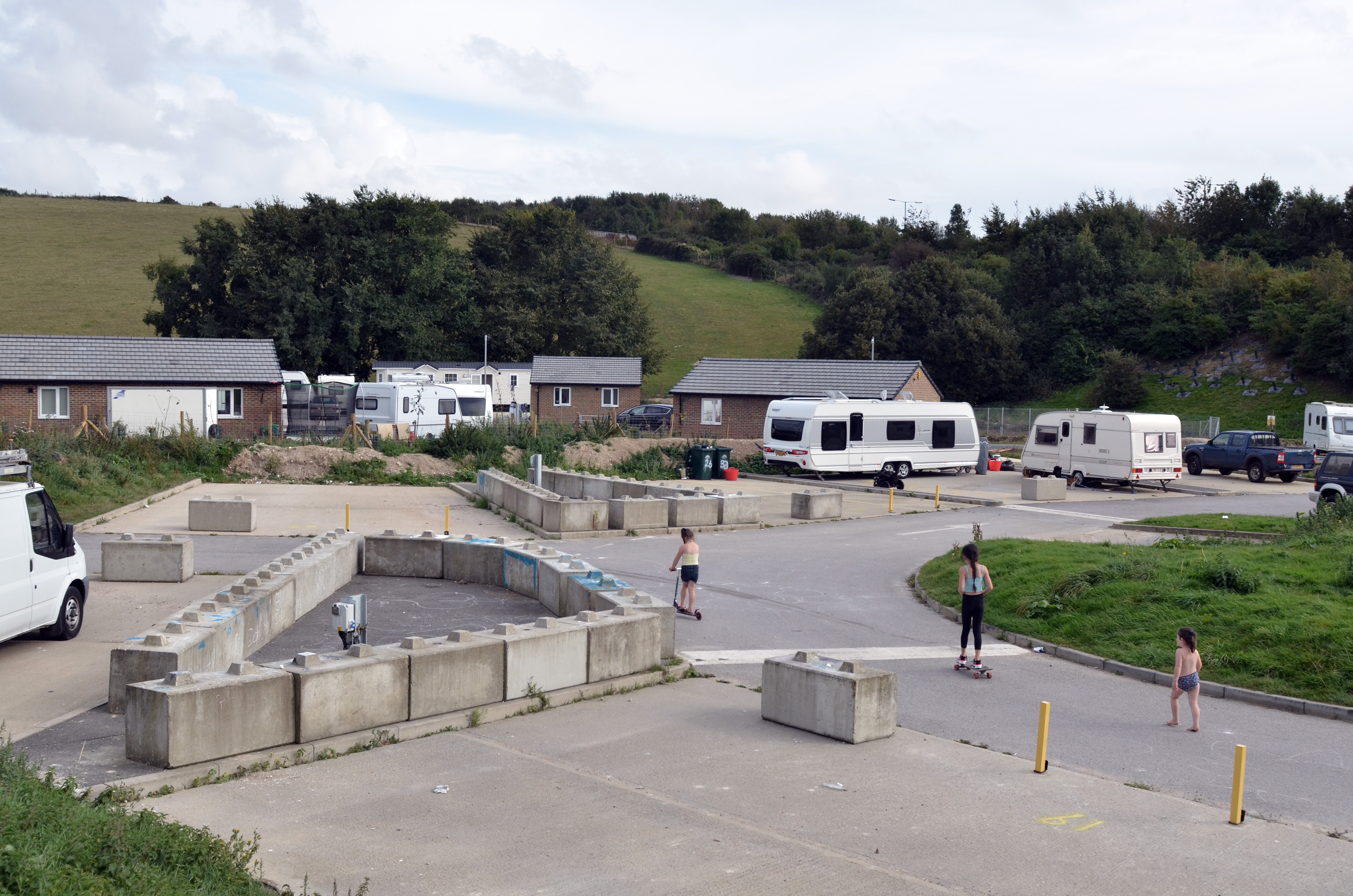 Picture of a Traveller site